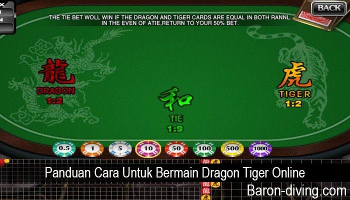 Panduan Cara Untuk Bermain Dragon Tiger Online